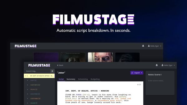 How to use Filmustage