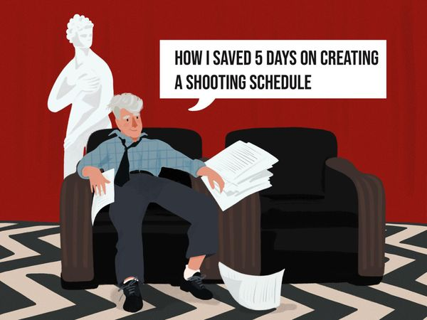How I saved 5 days on creating a shooting schedule